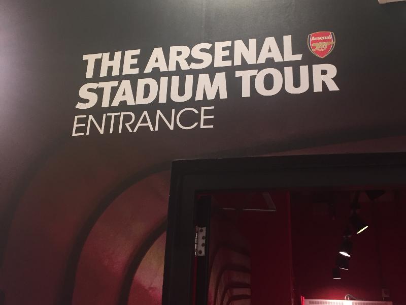 Emmirates Stadium Tour