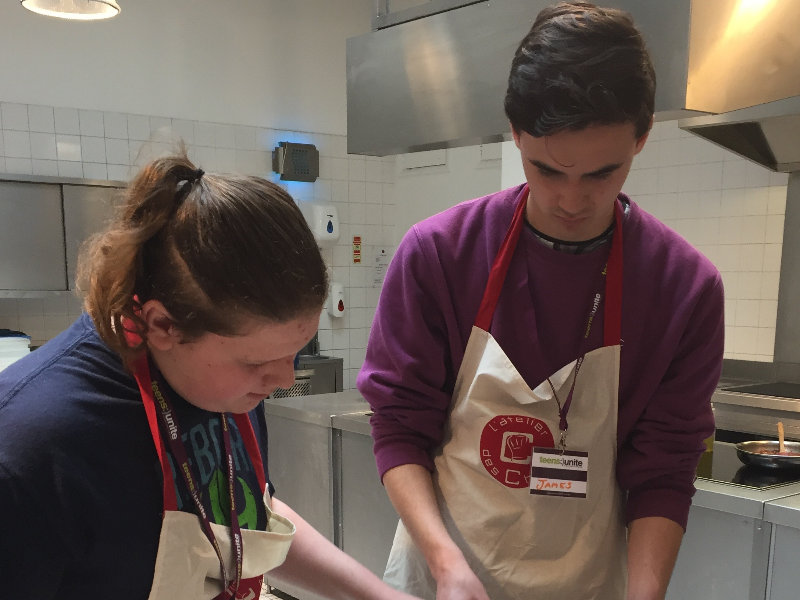 Siblings Cookery Day