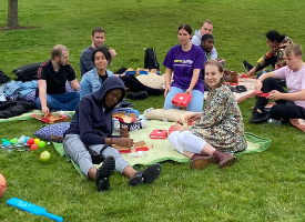 Reunion Pizza in the Park