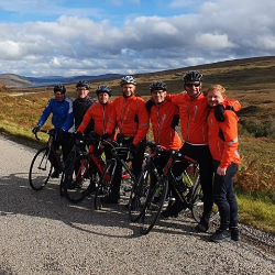 Team of Cyclists Complete 979-mile Journey from Lands' End to John O'Groats