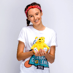 Teen Abby to take part in Children In Need Rickshaw Challenge