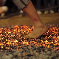 Teens Unite daredevils to take on Firewalk