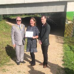Bridge Named in Honour of Co-Founder Debbie Pezzani