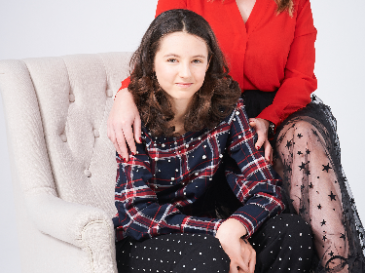 Meet Abby, diagnosed with Non-Hodgkin's Lymphoma, aged 12