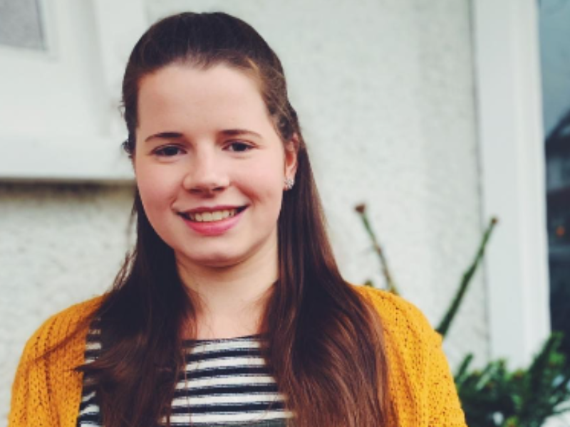 Meet Megan, diagnosed with Acute Lymphoblastic Leukaemia, aged 15