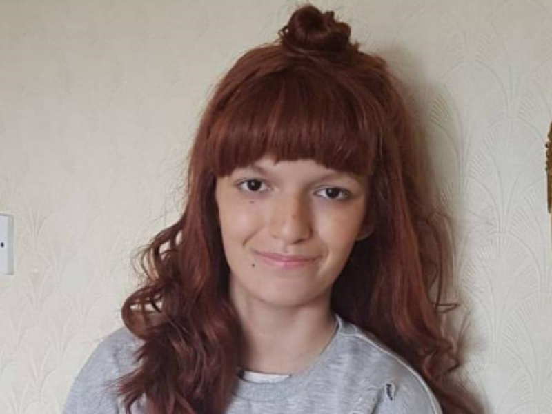 Meet Jodie, diagnosed with a brain tumor, aged 14