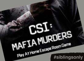 Mafia Escape Room - Siblings Event