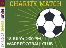 U16s TICKET - Charity Match