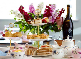 Treat your mum to afternoon tea